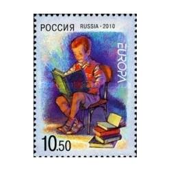 یک عدد تمبر مشترک اروپا - Europa Cept - کتابهای کودکان - روسیه 2010