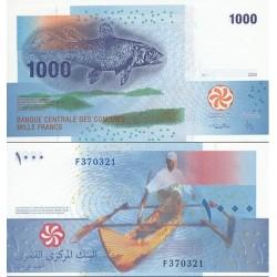 اسکناس 1000 فرانک - کومور 2005