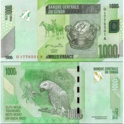 اسکناس 1000 فرانک - کنگو 2005