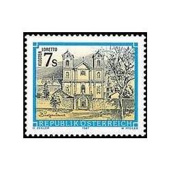 1 عدد تمبر صومعه اتریش - اتریش 1987