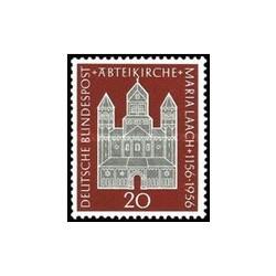 1 عدد تمبر 800مین سالگرد کلیسای ماریا لاچ - جمهوری فدرال آلمان 1956