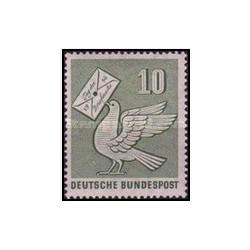 1 عدد تمبر روز تمبر - جمهوری فدرال آلمان 1956