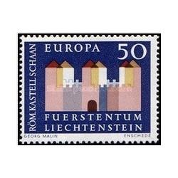 1 عدد تمبر مشترک اروپا - Europa Cept - لیختنشتاین 1964