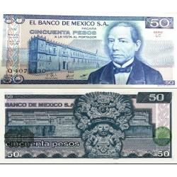 اسکناس 50 پزو - مکزیک 1981 سری LC