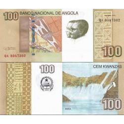 اسکناس 100 کوانزا - آنگولا 2012