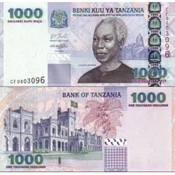 اسکناس 1000 شیلینگ - تانزانیا 2006 دکمه پیراهن رئیس جمهور بروش مردانه ترسیم شده