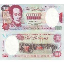 اسکناس 1000 بولیوار - ونزوئلا 1998