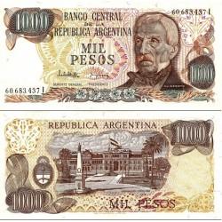 اسکناس 1000 پزو - آرژانتین 1983 سری I