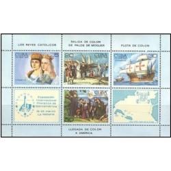 سونیرشیت نمایشگاه بین المللی تمبر اسپامیر 85 - هاوانا - کوبا 1984