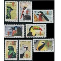 8عدد تمبر پرندگان کوبا - 2011