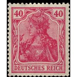 1 عدد تمبر از سری پستی - 40 فنیک - رایش آلمان 1920 با شارنیه