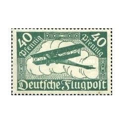 1 عدد تمبر از سری پستی هوائی - 40 فنیک  - رایش آلمان 1919