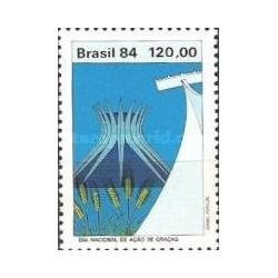 1 عدد تمبر روز شکرگزاری - برزیل 1984