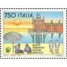 1 عدد تمبر تفرجگاههای ساحلی - ایتالیا 1992