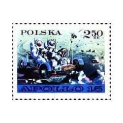 1 عدد تمبر ماه نورد مشترک آمریکا و شوروی -2- لهستان 1971