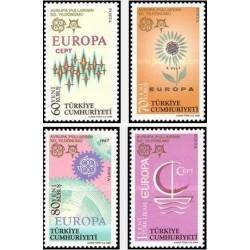 4 عدد تمبر مشترک اروپا - Europa Cept - یادبود 50مین سال تمبرهای اروپا - ترکیه 2005 قیمت7.6 دلار