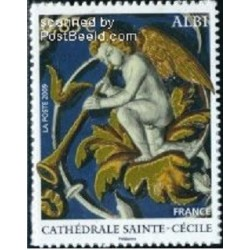 1 عدد تمبر کلیسای سنت سیسیلیا  - هنر مذهبی - خودچسب - فرانسه 2009 قیمت 4 یورو