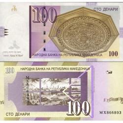 اسکناس 100 دینار - مقدونیه 2009