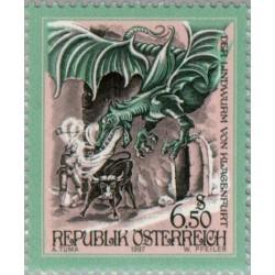 1 عدد تمبر داستانها و افسانه های اتریش - اتریش 1997