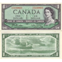 اسکناس 1 دلار - کانادا 1954