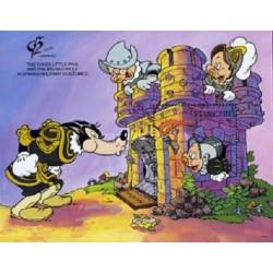 سونیرشیت نمایشگاه جهانی تمبر گرنادا - شخصیتهای کارتونی والت دیسنی -  سنت وینسنت 1992 قیمت 5.6 دلار