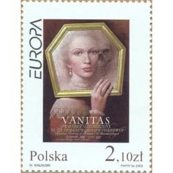 1 عدد تمبر مشترک اروپا - Europa Cept - غرور - لهستان 2003 قیمت 1.6 دلار