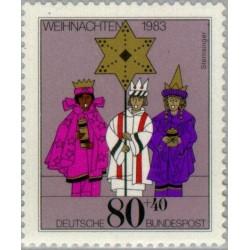 1 عدد تمبر کریستمس - جمهوری فدرال آلمان 1983