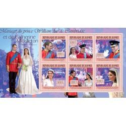 سونیرشی-ت ازدواج پرنس ویلیام و کیت میدلتون- جمهوری گینه 2011