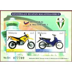 سونیر شیت موتورسیکلتها و اسکوترهای  ساخت مالزی - 3 - مالزی 2003