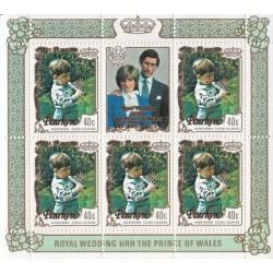 مینی شیت ازدواج سلطنتی پرنس چارلز و دایانا اسپنسر - 2 -  پنرین 1981