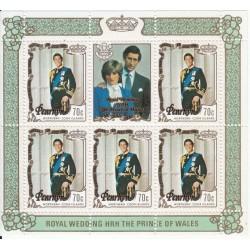 مینی شیت ازدواج سلطنتی پرنس چارلز و دایانا اسپنسر - 3 -  پنرین 1981