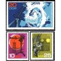 3 عدد تمبر 75مین سالگرد رصدخانه پستدام - جمهوری دموکراتیک آلمان 1968
