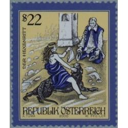 1 عدد تمبر قصه ها و افسانه های اتریش - اتریش 2000 قیمت 4.7 دلار