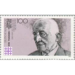 1 عدد تمبر یادبود رینود تریگلاف بنیانگذار کلیسای انجیلی - جمهوری فدرال آلمان 1991