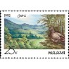 1 عدد تمبر حفاظت از طبیعت کدری - مولداوی 1992