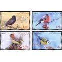 4 عدد تمبر پرندگان مولداوی - مولداوی 2015 قیمت 5.7 دلار