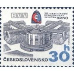 1 عدد تمبر 20مین نمایشگاه بین المللی مهندسی - برنو -  چک اسلواکی 1978