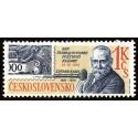 1 عدد تمبر روز تمبر -  چک اسلواکی 1981