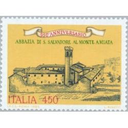 1 عدد تمبر صومعه سن سالواتوره - ایتالیا 1985 قیمت 2.4 دلار