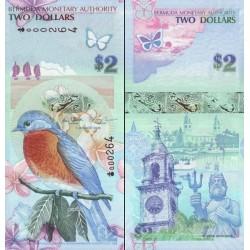 اسکناس 2 دلار - برمودا 2009