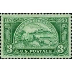 1 عدد تمبر 75مین سالگرد انجمن بانکداران آمریکا - آمریکا 1950