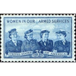 1 عدد تمبر زنان در خدمات مسلحانه - آمریکا 1952