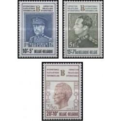 3 عدد تمبر نمایشگاه تمبر بلژیکا 72 - 3 - بلژیک 1972