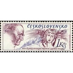 1 عدد تمبر روز تمبر - چک اسلواکی 1990