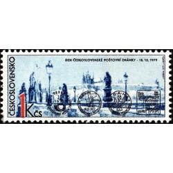 1 عدد تمبر روز تمبر - چک اسلواکی 1979