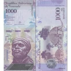 اسکناس 1000 بولیوار - ونزوئلا 2016