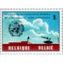 1 عدد تمبر صدمین سال همکاریهای بین المللی هواشناسی - بلژیک 1973