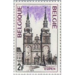 1 عدد تمبر توریسم - بلژیک 1973