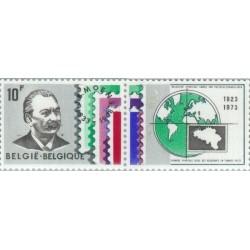 1 عدد تمبر 50مین سال انجمن فروشندگان تمبر با تب - بلژیک 1973