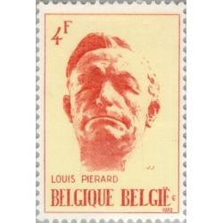 1 عدد تمبر 21مین سال مرگ لوئیز پیرارد - نویسنده - بلژیک 1973